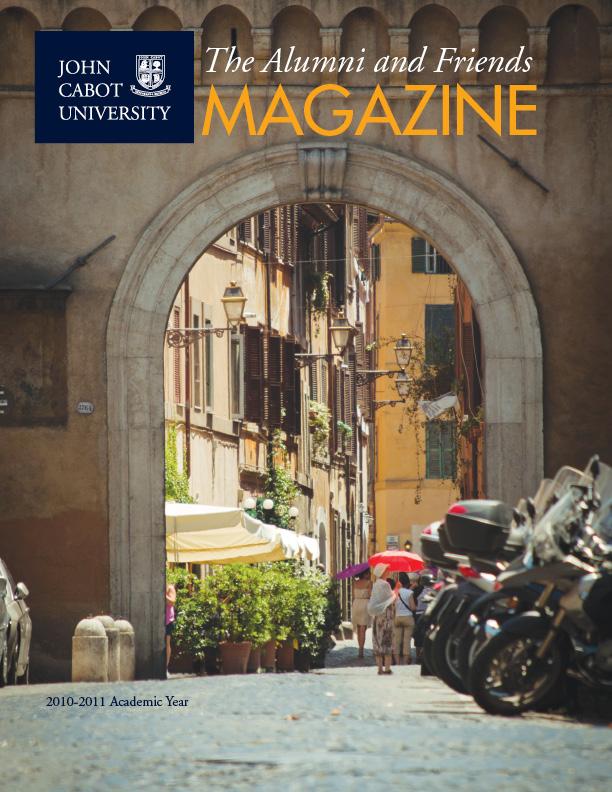 John Cabot University Alumni Magazine, design