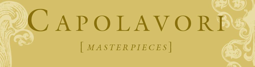 Capolavori, logo design