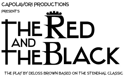 The Red and the Black, off-Broadway play logo