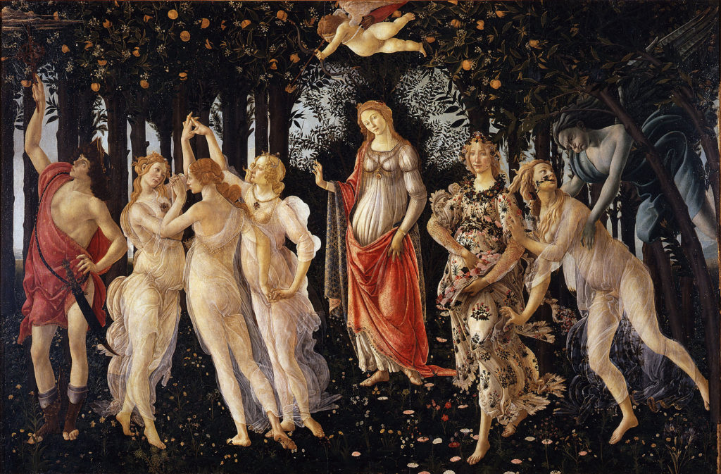 Enter Spring via Botticelli